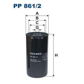 palivovy filtr PP861/2 FILTRON Zabezpečená platba – jenom nové autodíly