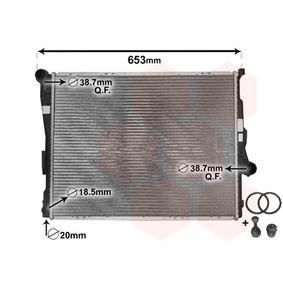 Radiatore, Raffreddamento motore VAN WEZEL 06002278 comprare e sostituisci