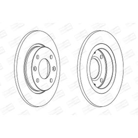 Brake Disc 561253CH CHAMPION Secure payment — only new parts