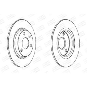 Brake Disc 561359CH CHAMPION Secure payment — only new parts