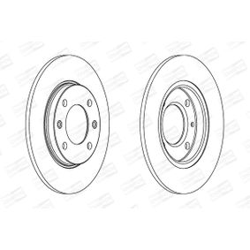 Brake Disc 561555CH CHAMPION Secure payment — only new parts