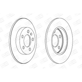 Brake Disc 562177CH CHAMPION Secure payment — only new parts