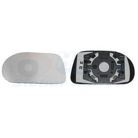 Vidro de espelho, espelho retrovisor exterior 1756837 com uma excecional VAN WEZEL relação preço-desempenho