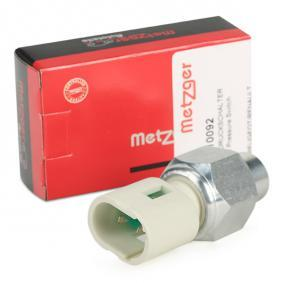 buy METZGER Oil Pressure Switch, power steering 0910092 at any time