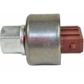 Pērc METZGER Spiediena slēdzis, Gaisa kondicionēšanas sistēma 0917275 jebkurā laikā