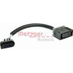 METZGER Cablu adaptor, alimentare aer clapeta comanda 2323029 cumpărați online 24/24