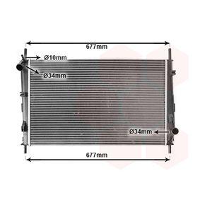Radiateur, refroidissement du moteur 18002335 VAN WEZEL Paiement sécurisé — seulement des pièces neuves