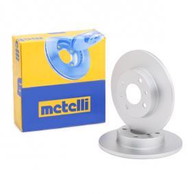 Disco de travão 23-0232C METELLI Pagamento seguro — apenas peças novas