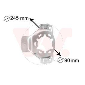 VAN WEZEL protectie stropire, disc frana 3742371 cumpărați online 24/24