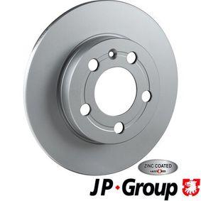 ostke ja asendage Piduriketas JP GROUP 1163200600