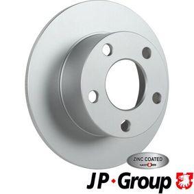 Disque de frein 1163206300 JP GROUP Paiement sécurisé — seulement des pièces neuves