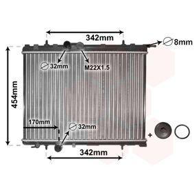 Radiateur, refroidissement du moteur 40002189 à un rapport qualité-prix VAN WEZEL exceptionnel