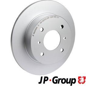 Disque de frein 4063200500 JP GROUP Paiement sécurisé — seulement des pièces neuves