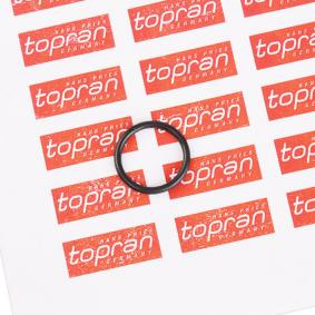 acheter TOPRAN Joint, radiateur d'huile 503 094 à tout moment