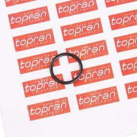 Αγοράστε TOPRAN Φλάντζα, ψυγείο λαδιού 503 094 οποιαδήποτε στιγμή