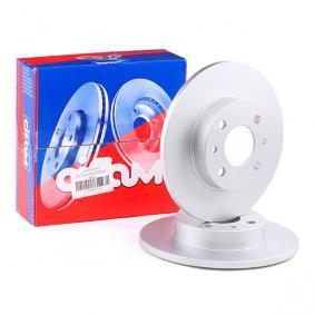 Disco de travão 800-232C CIFAM Pagamento seguro — apenas peças novas