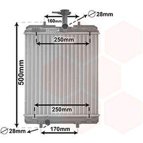 Radiatore, Raffreddamento motore VAN WEZEL 53002363 comprare e sostituisci