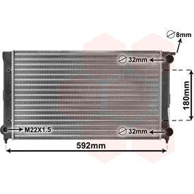 acheter VAN WEZEL Radiateur, refroidissement du moteur 58002045 à tout moment