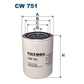 acheter FILTRON Filtre de liquide de refroidissement CW751 à tout moment