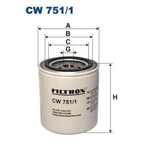 FILTRON филтър за охладителната течност CW751/1 купете онлайн денонощно