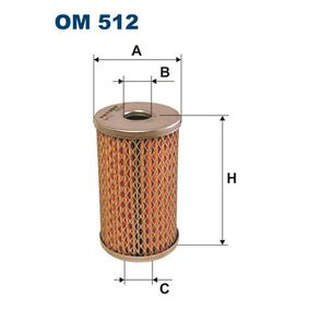 FILTRON Filtr hydrauliczny, układ kierowniczy OM512 kupować online całodobowo
