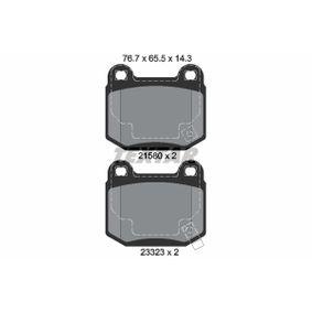 комплект спирачно феродо, дискови спирачки 2158001 за NISSAN 350 Z на ниска цена — купете сега!