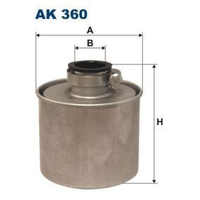 FILTRON Filtr powietrza, kolektor dolotowy sprężarki AK360 kupować online całodobowo