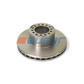 Brake Disc 31025 AUGER Secure payment — only new parts