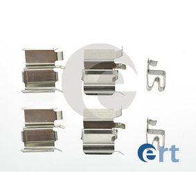 kit d 39 accessoires plaquette de frein disque pour mazda mx 5 ii nb 1998 pas ch res en ligne. Black Bedroom Furniture Sets. Home Design Ideas
