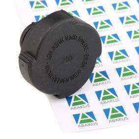 compre ABAKUS Tampa de fecho, recipiente de líquido de refrigeração 004-027-001 a qualquer hora
