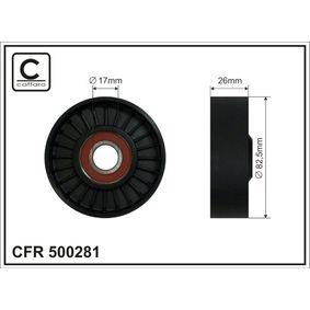 CAFFARO Rullo tenditore, Cinghia Poly-V 500281 acquista online 24/7