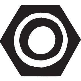 Original BOSAL Mutter avgasgrenrör 258-040 beställa högsta kvalitet