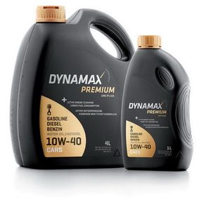 buy and replace Engine Oil DYNAMAX 501892
