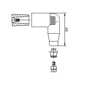 Fiche, bobine d'allumage 13552A1 BREMI Paiement sécurisé — seulement des pièces neuves