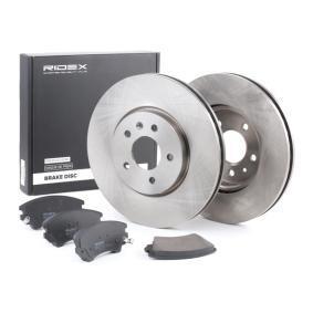 Brake Set, disc brakes RIDEX Brake Disc Type: Internally Vented, with brake  pads — item: 3405B0277  Buy now!