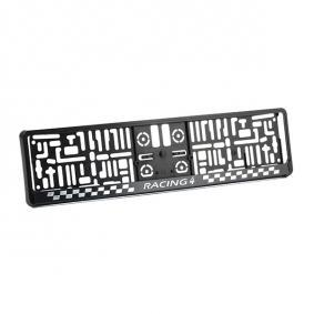 Licence plate holders MONTE CARLO 3D at a discount — buy now!