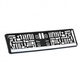 Licence plate holders MONTE CARLO CHROM at a discount — buy now!