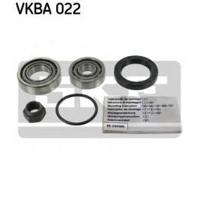 Kit cuscinetto ruota VKBA 022 per PEUGEOT 404 a prezzo basso — acquista ora!