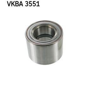Rendeljen VKBA 3551 SKF kerékcsapágy készlet terméket most