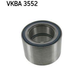 Rendeljen VKBA 3552 SKF kerékcsapágy készlet terméket most