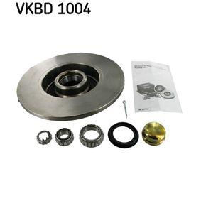 Bromsskiva VKBD 1004 SKF Säker betalning — bara nya delar