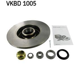 Bromsskiva VKBD 1005 SKF Säker betalning — bara nya delar