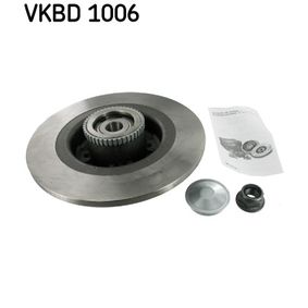 Bremsscheibe von SKF - Artikelnummer: VKBD 1006