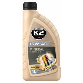 kjøpe K2 Motorolje O14D0001 når som helst