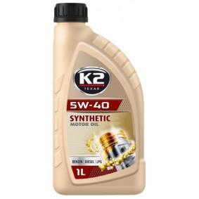 osta K2 Moottoriöljy O34B0001 milloin tahansa