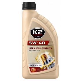 kjøpe K2 Motorolje O34V0001 når som helst