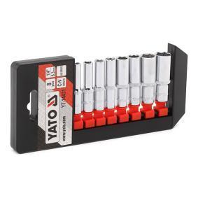 Steckschlüsselsatz, Muttern / Schrauben YT-14431 Niedrige Preise - Jetzt kaufen!