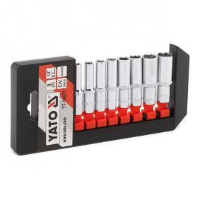 Socket wrench kit, nuts / bolts YT-14431 at a discount — buy now!