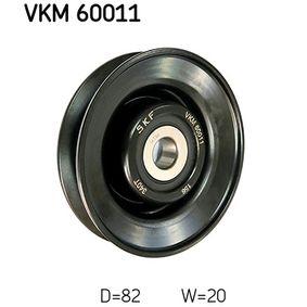 Αγοράστε SKF Τροχαλία παρέκκλισης, ιμάντας VKM 60011 οποιαδήποτε στιγμή