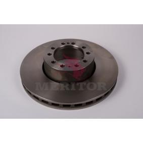 Disque de frein MBR9020 MERITOR Paiement sécurisé — seulement des pièces neuves